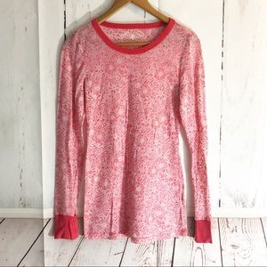 Free People • Floral Thin Long Sleeve